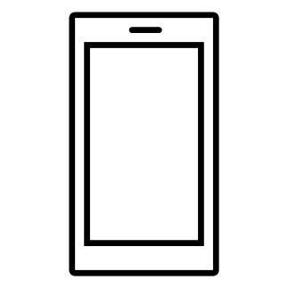 image of a mobile phone to illustrate a simple communications approach